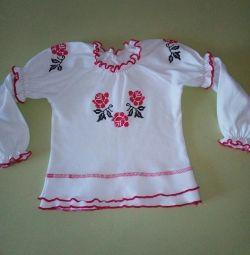 Blouse in Ukrainian style