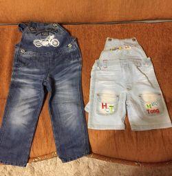 Jeans pentru băiat diferite soluții