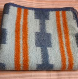 Pamuklu battaniye 190x160 cm Sıcak