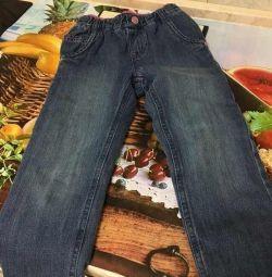 Теплі дитячі джинси