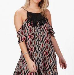 Boohoo νέο φόρεμα, μέγεθος M / L