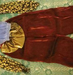 Costum de frumusețe orientală 4-8 ani