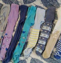 Tights + socks