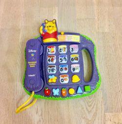 Το Vtech Vinnie the Pooh Φωτεινό Παιδικό Τηλέφωνο
