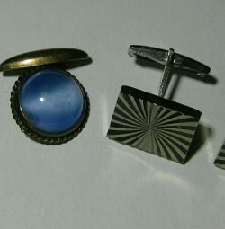 Cufflinks of the USSR, 2 types