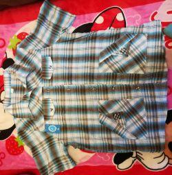 Νέο μέγεθος γυναικείου πουκάμισου 56