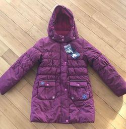 Новое зимнее Пальто Mazima размер 128-134