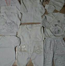 Yeni doğanlar için giyim