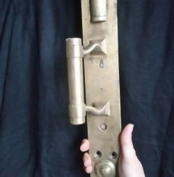 Door handle brass