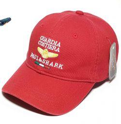 Бейсболка Paul Shark Guardia Costiera (бордовый)