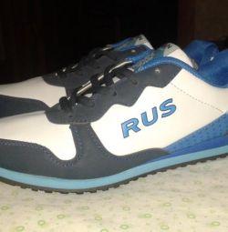 Αθλητικά παπούτσια με μπλε χρώμα Νέα.