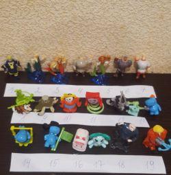 Кіндер іграшки