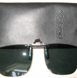 Duza de pe ochelari întunecând POLAROID nou într-o cutie