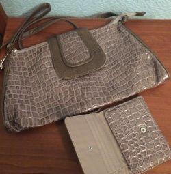 Çanta + cüzdan