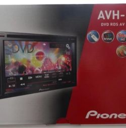 Новая, гарантия магнитола с DVD Pioneer AVH-190