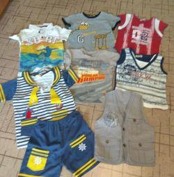 Πακέτο μπλουζών