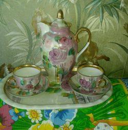 Coffee porcelain service