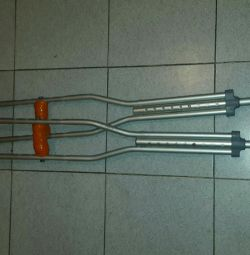Crutches Aluminum Adjustable