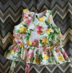 Нарядная блузка на104 размер