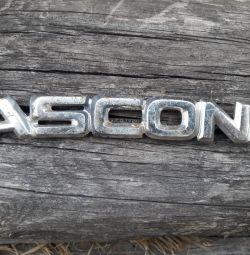 Opel Ascona ascona isim etiketi