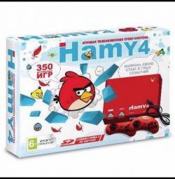 Ігрова приставка Хамі 4 (Денді + Сега)