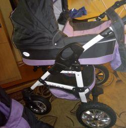 Baby carriage 3in1 Verdi Max