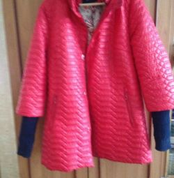 Jacket with detachable sleeves. Time 48/50/52