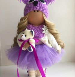 Handmade doll in stock and on order