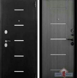 Door entrance tiger ,, Style ,, (moire / sandal gray)