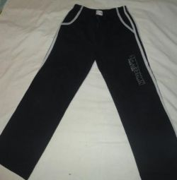 Pants warm new growth 146.152 for 9-11 years