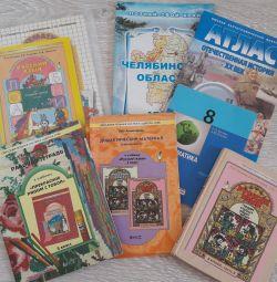 Учебники 1, 3 и 4 кл.