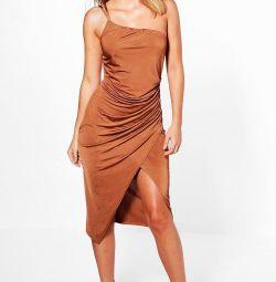 Коктейльное платье Boohoo новое, размер S