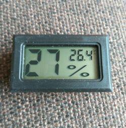 Гигрометр / влагомер + термометр