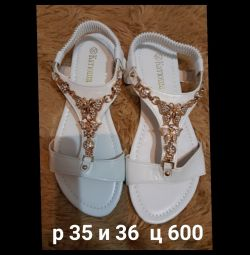 Sandals 35 and 36
