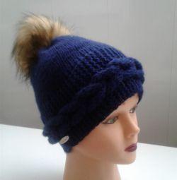 Χειροποίητο χαριτωμένο καπέλο για κορίτσι (κορίτσι)