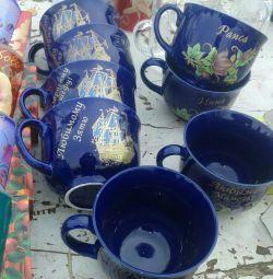 Cupe și pahare cu nume