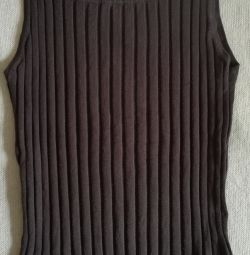 Knitted vest, r-48 (50) (XL)