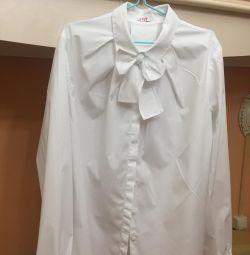 Блузка шкільна форма Il gufo