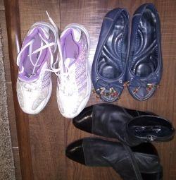 Pantofi pentru 100 de ruble, pentru femei.