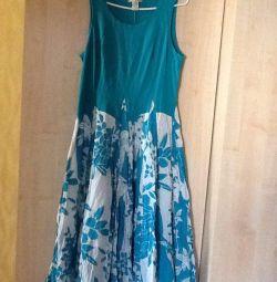 Платье новое хлопок размер Л. Индия