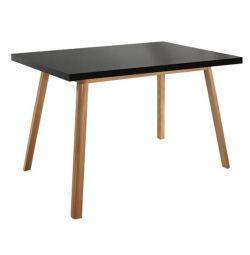 VEGAS TABLE BLACK T100 120X80 ДЕРЕВА С ДЕРЕВЯННЫМ FOX