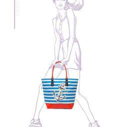 Новая летняя сумка (пляжная)