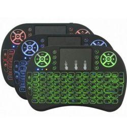Ασύρματο πληκτρολόγιο Mini με πληκτρολόγιο Rii I8