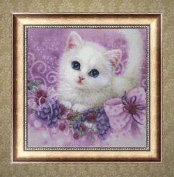 Diamond embroidery mosaic fluffy