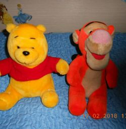 Winnie ~ Pooh and Tiger Disney.