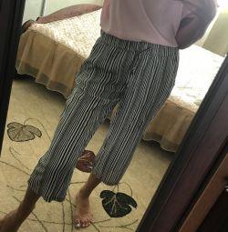 Pantaloni, top nou