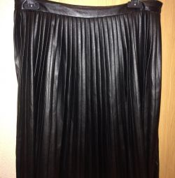 Skirt pleated skirt