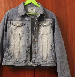Джинсовая курточка,размер 42-44