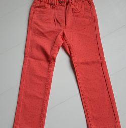 Pantaloni Futurino 104 creștere. nou