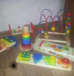 Ξύλινα παιχνίδια